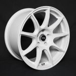 CLEAVE RACING TR9 17x9J +15 5-114.3 ホワイト 4本セット RX-7 RX-8 FC3S FD3S JZX81 JZX90 JZX100 JZX110 S13 S14 S15 R32 R33 R34 V35