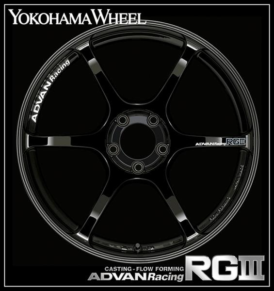 【1本価格】ADVAN Racing RG3 18×9J +35 5H-114(RGB)